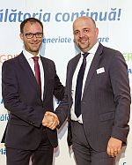 Remi VRIGNAUD, Head of CEO Office ALLIANZ SE<br><br>Virgil SONCUTEAN, CEO ALLIANZ TIRIAC Asigurari
